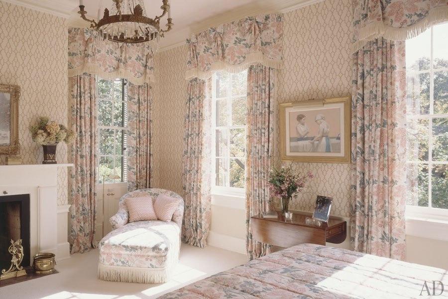 Спальня в доме 1815 года в Вашингтоне. 1993