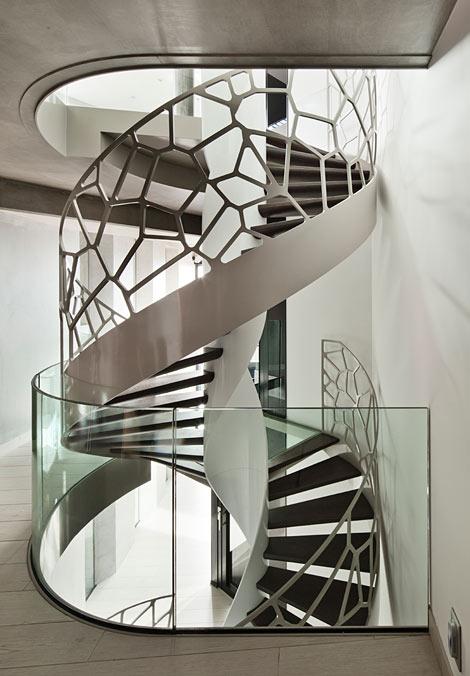 Ограждение для лестницы 4
