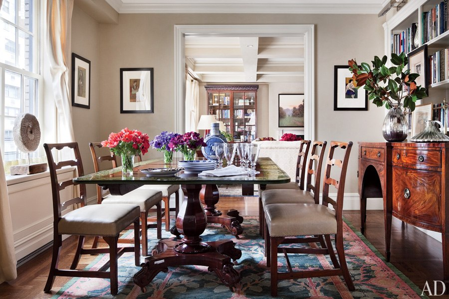 liveathome-celebrity-dining-rooms-24-ali-wentworth-george-stephanopoulos